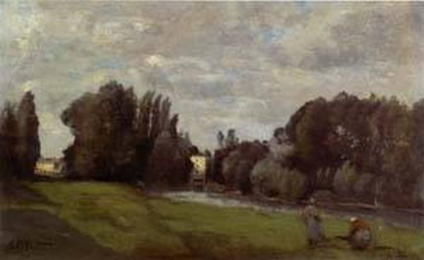 The Mill in the Trees 1855